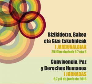 [:es]I Jornadas Convivencia, Paz y Derechos Humanos[:eu]Bizikidetza, bakea eta Giza Eskubideak I Jardunaldiak[:] @ Museo Marítimo de Bilbao